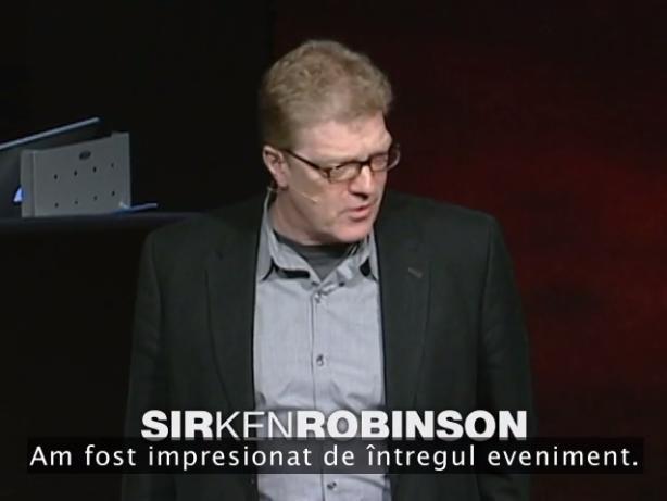 Ken Robinson - Scolile distrug creativitatea (TED 2006)